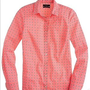 J Crew Perfect Shirt in Floral